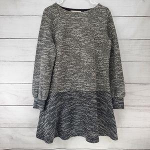 NEW LOFT Knit Color Block Sweater Dress
